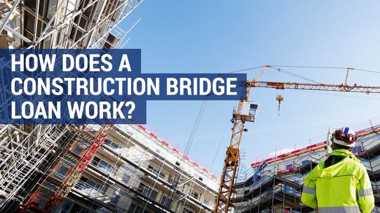 how does a construction bridging loan work